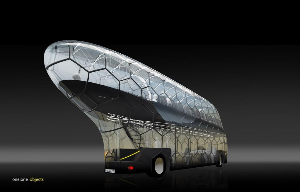 """Чужі"" скоро захоплять Пітер, або дизайн мегаавтобуса"