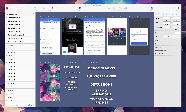 Sketch-AppStoreTemplate