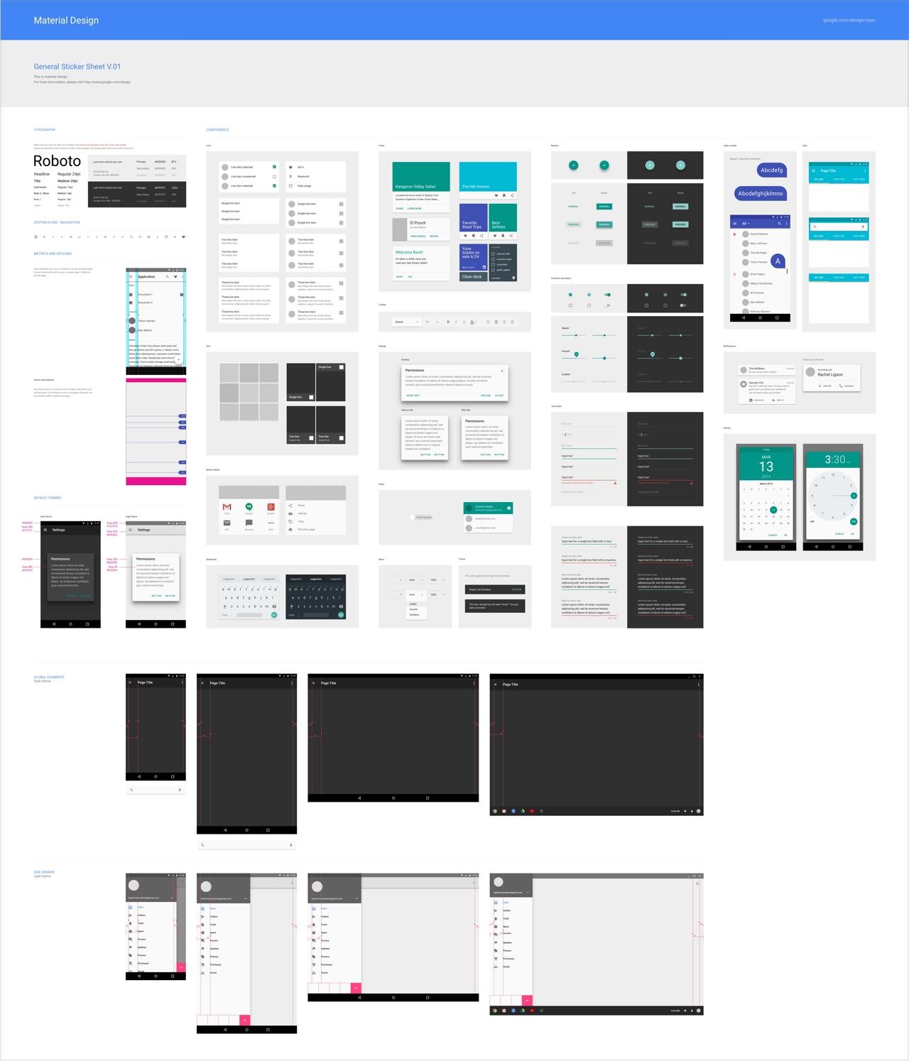 Sketch-MaterialDesign