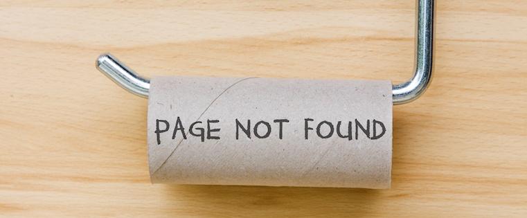 Креативна 404 сторінка від реальних сайтів (Частина 1)