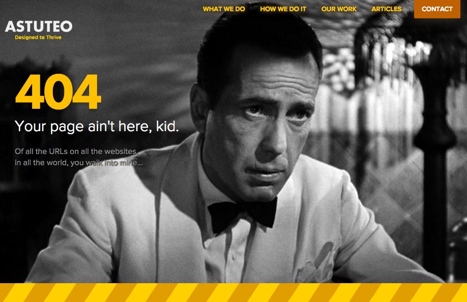 Креативна 404 сторінка від реальних сайтів (Частина 2)