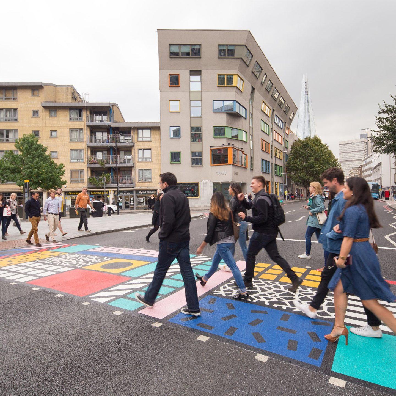 Як Лондон дивує креативністю: дизайнерський пішохідний перехід