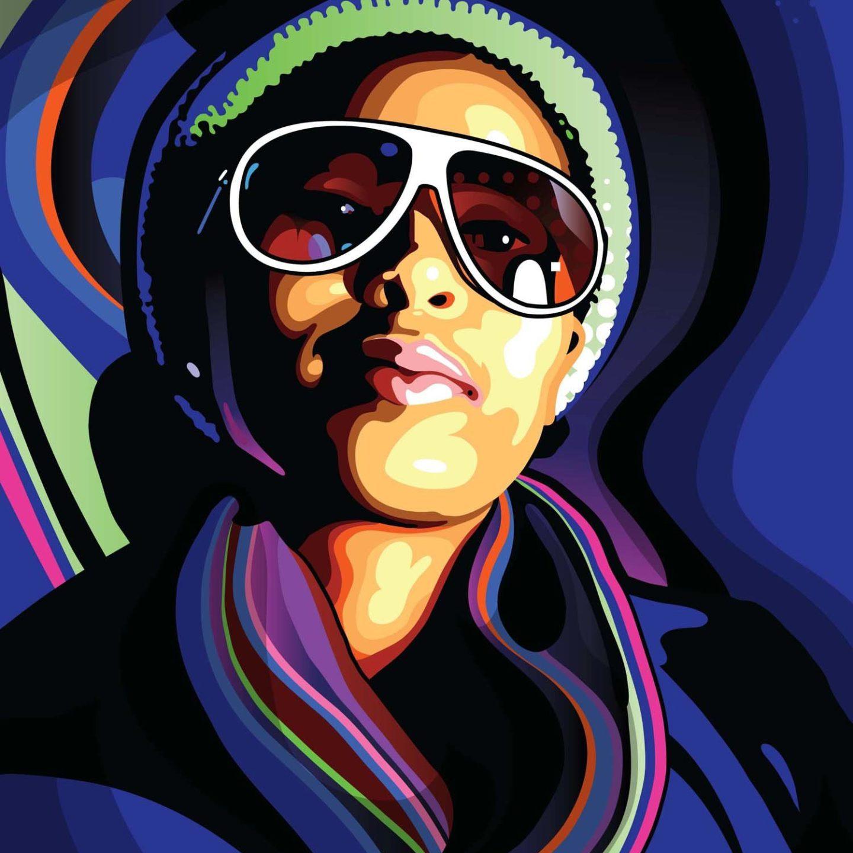 Создаем стильные векторные портреты в Adobe Illustrator (Часть 2)