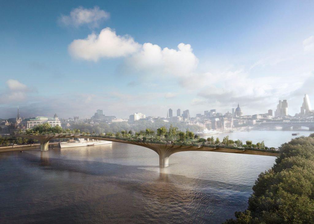 Чи ви вірите, що у Лондоні може з'явитися отакий міст?