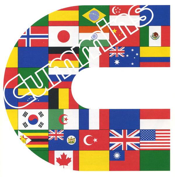 Логотип і дизайн обкладинки. Cummins Engine Company. 1973/1991.
