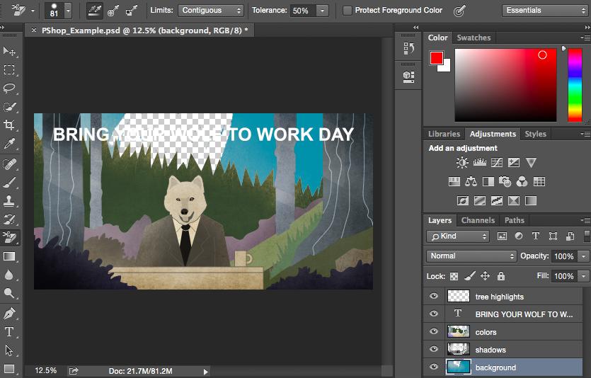 Як використовувати Photoshop, 12 базових функцій (Частина 2)