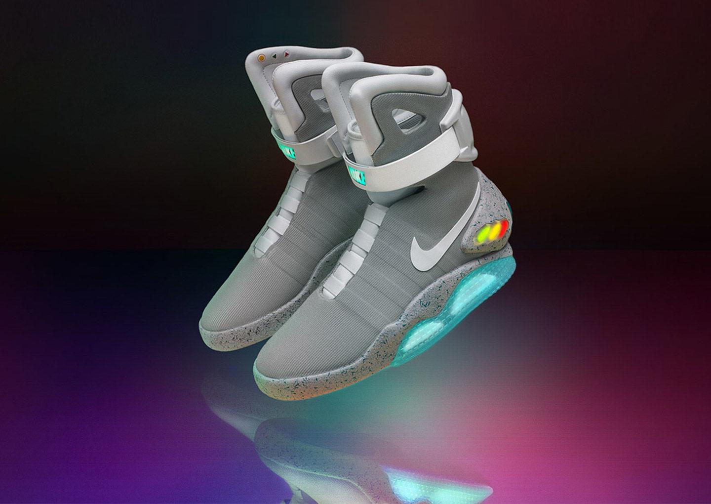 """Дизайн майбутнього: Nike розіграє кросівки із """"Назад у майбутнє II"""""""