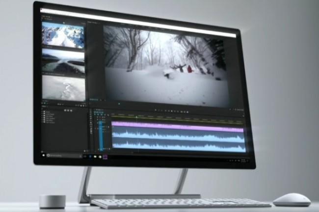 Microsoft хочет затмить iMac: 28-дюймовый Surface Studio с ценой от $2999 (Видео)