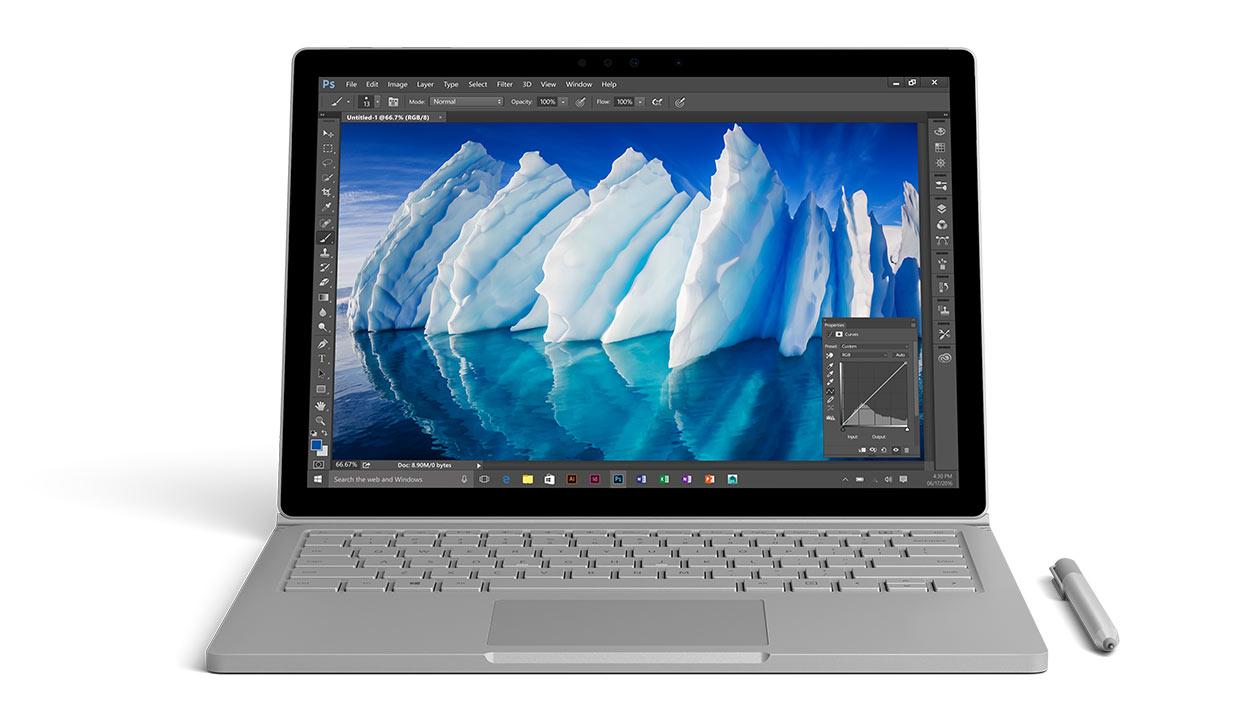 Microsoft представила конкурента MacBook Pro (Видео)