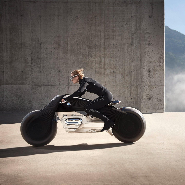 BMW створила мотоцикл для супергероїв майбутнього. Зацініть дизайн (Відео)