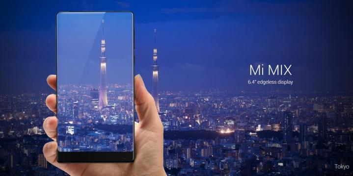 Xiaomi Mi MIX – унікальний смартфон у керамічному корпусі від Філіпа Старка!