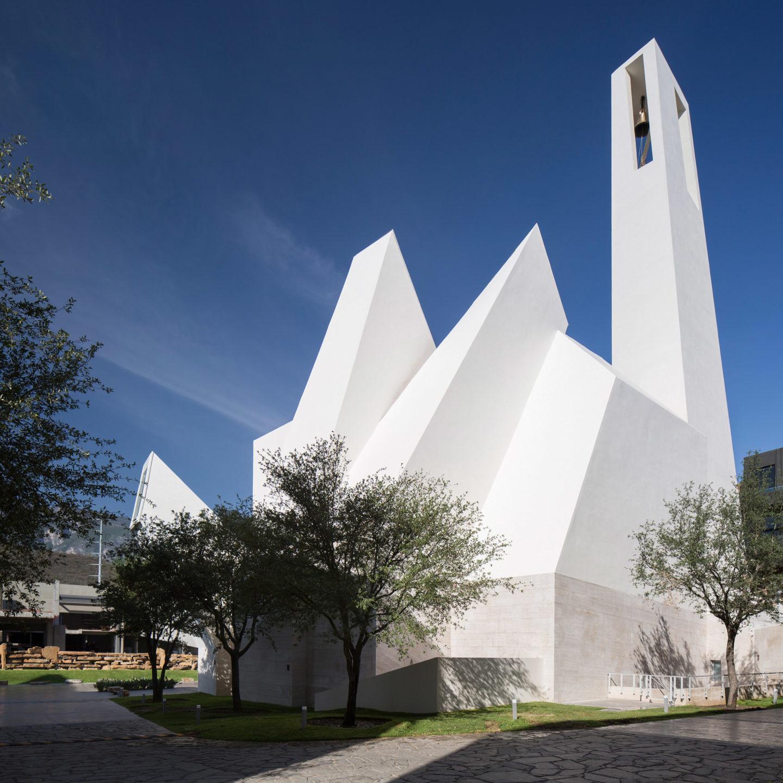 Футуристична церква у Мексиці