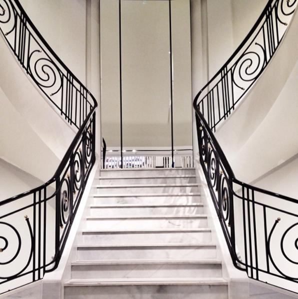 симетричне фото сходів