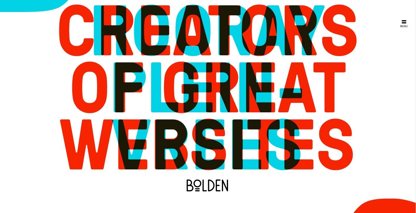 bolden-typography-example
