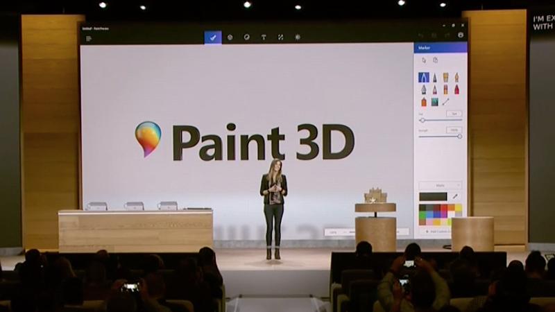Paint 3D доступен для загрузки из Windows Store