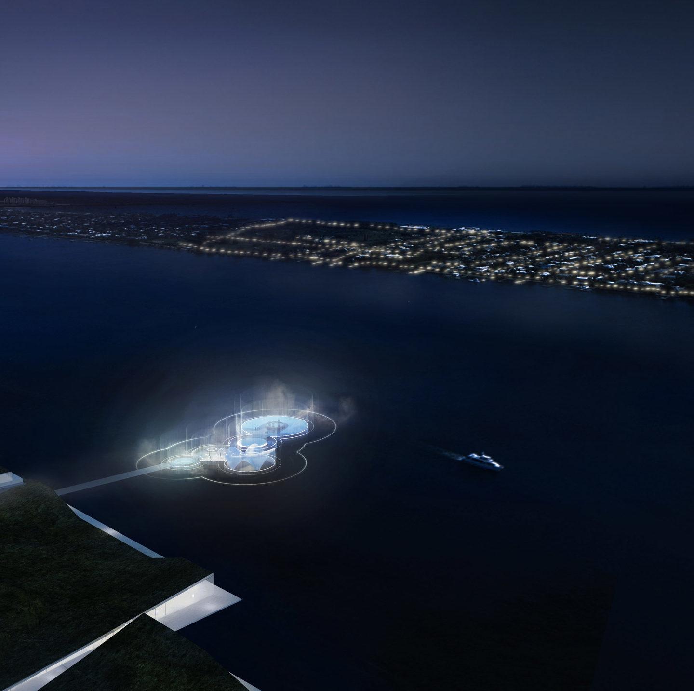 Плавуча площа у Вест-Палм-Біч – ідея неймовірної субмарини від Carlo Ratti