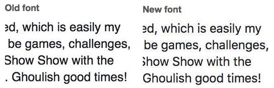 facebook-font-changes