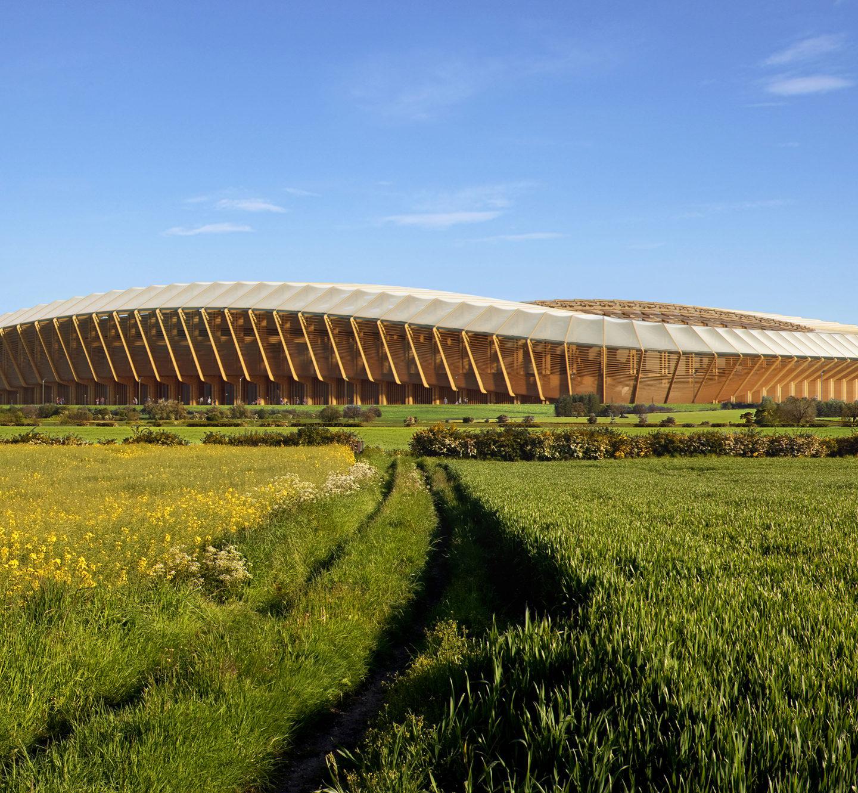 Zaha Hadid Architects створить футбольний стадіон з дерева