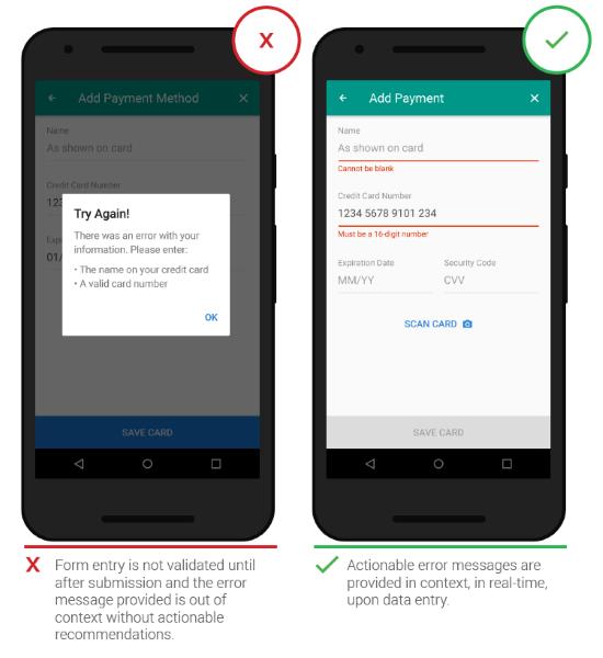 Текстові поля у мобільних додатках: як робити правильну валідацію?