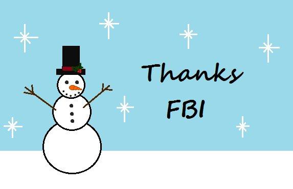 Весь світ сміється з ФБР і його вітальної листівки на Різдво