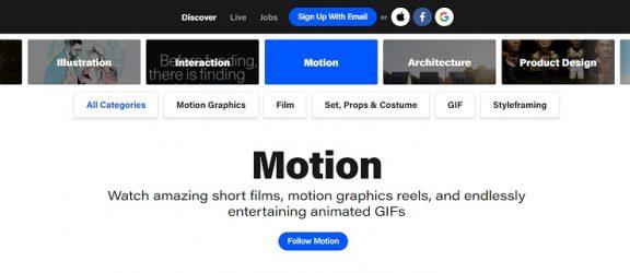Motion Design: 5 кращих cайтів для натхнення дизайнерів та креативників