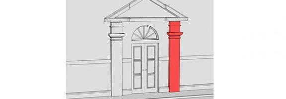 Архітектурні терміни, яких ви НЕ знаєте: капітель, контрфорс,пілястра, поребрик