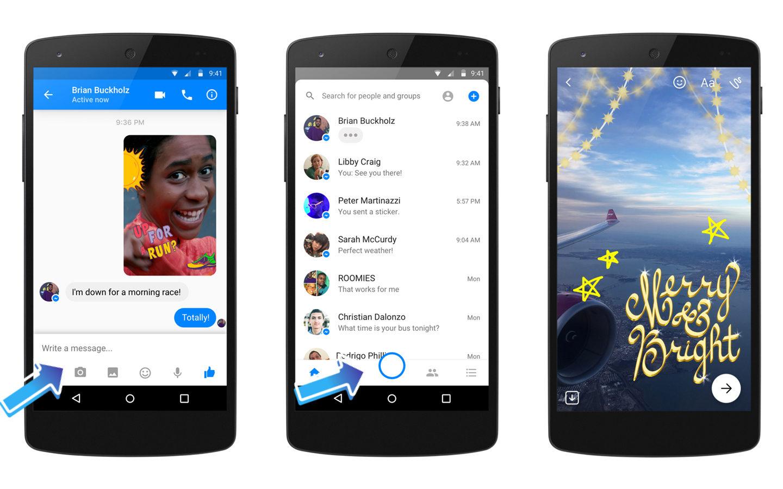 Facebook Messenger отримав нову камеру зі спецефектами