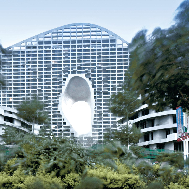 Дизайн із фільму про майбутнє: реальна будівля у Китаї