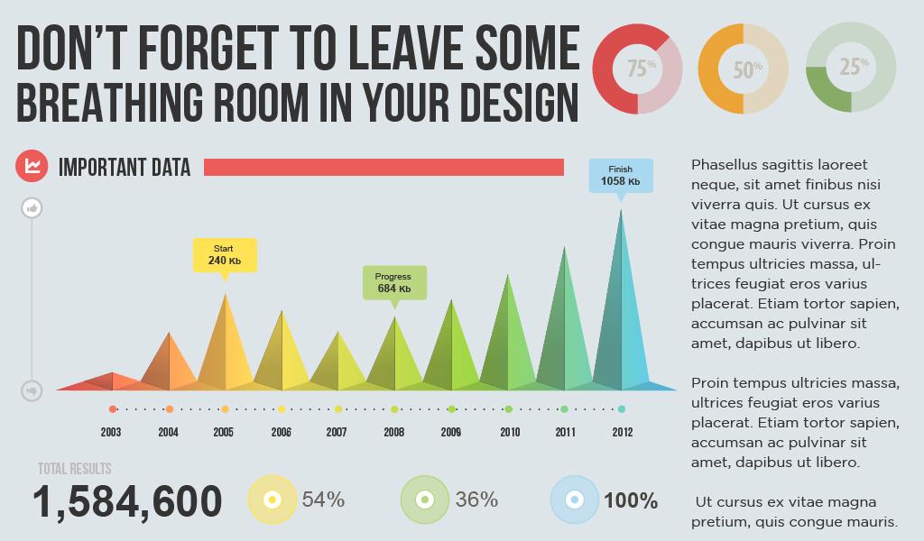 Мало вільного простору у дизайні
