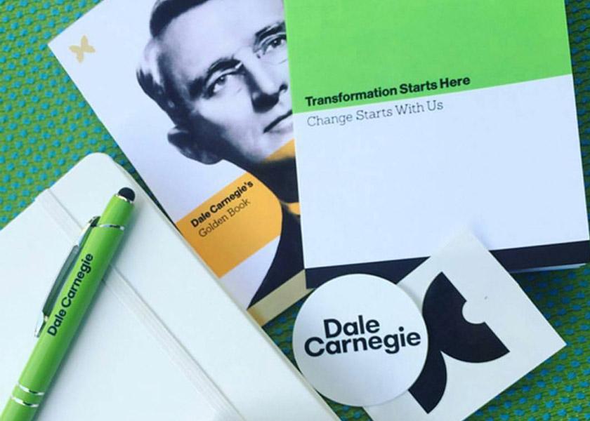 Прикольна нова айдентика компанії Dale Carnegie