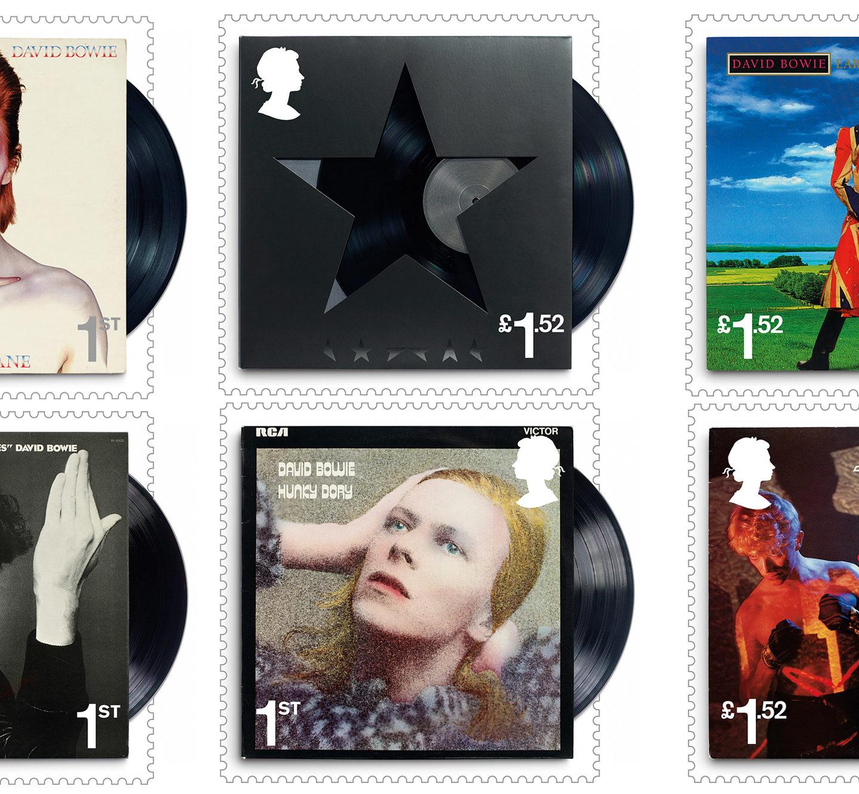 Дизайн альбомів Девіда Боуї вшанували на британських поштових марках