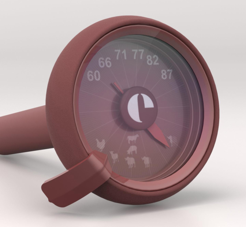 Дизайнерський термометр від французького бренду