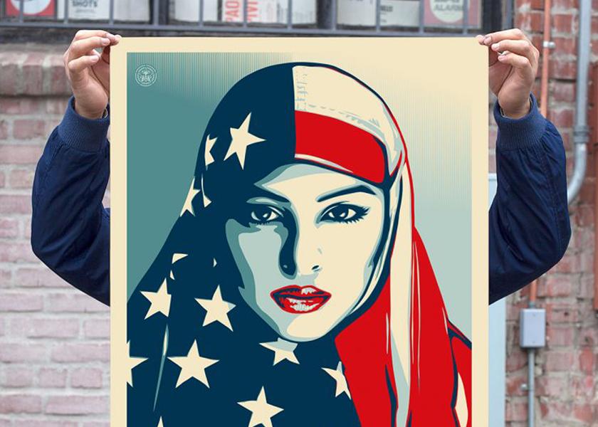"""Протестні плакати """"We The People"""" проти Трампа: як дизайнити красиво про політику"""