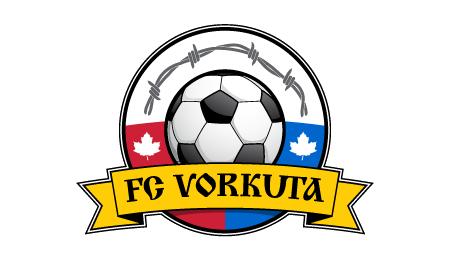 Полная жесть: логотип ФК «Воркута», который играет в … Канаде!