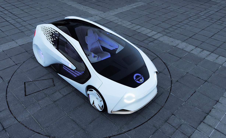 Чистий дизайн у Toyota Concept-i (Відео)