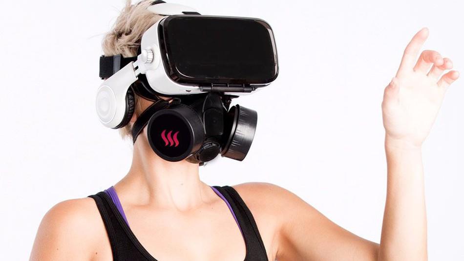 Дизайн-шок: маска OhRoma, що передає запах при 3D перегляді порно