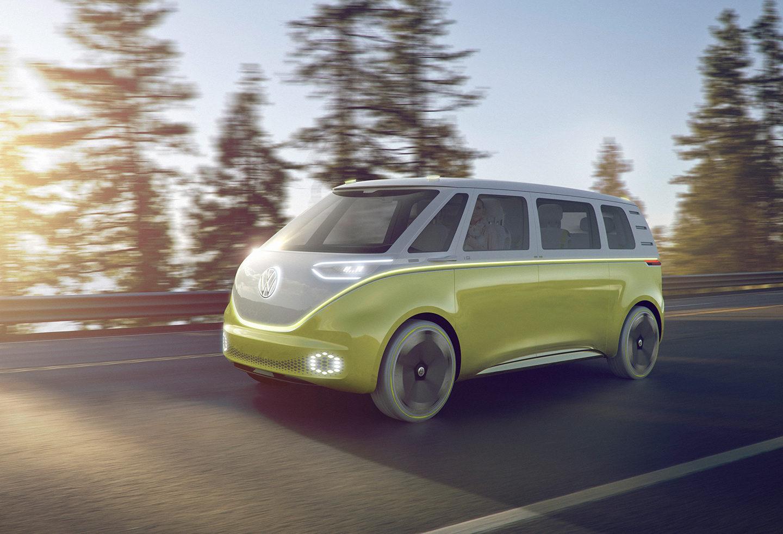 Редизайн мікроавтобусу для хіппі від VW