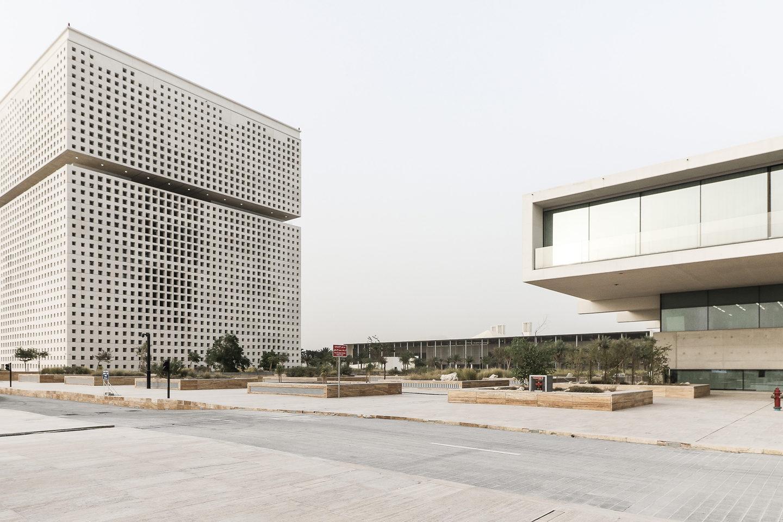 Геометричний шедевр у Катарі