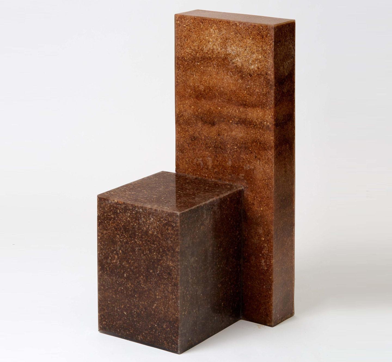 Нестандартні матеріали для дизайну: стілець з деревної стружки