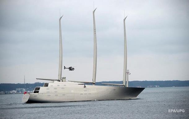 У Німеччині побудували неймовірно красиву супер-яхту для мільярдера з РФ