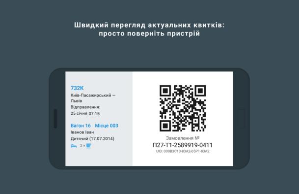 """""""Укрзалізниця"""" випустила мобільний додаток з чудовим дизайном"""