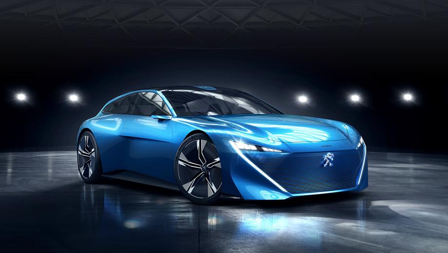 Peugeot Instinct – візія майбутнього авто-дизайну