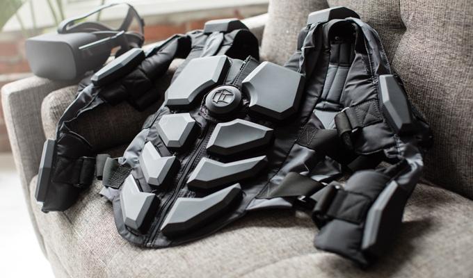 Product design у дії: костюм Hardlight VR для віртуальної реальності