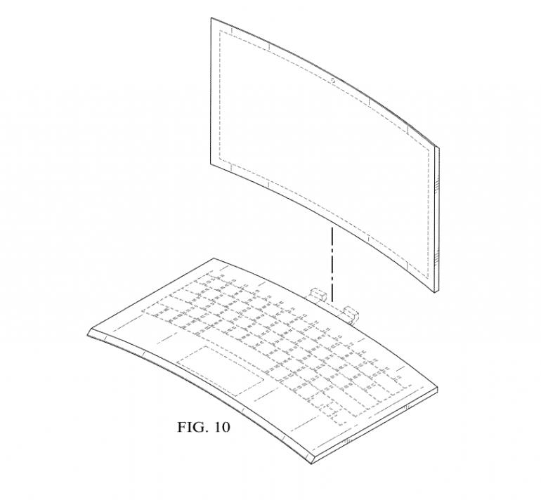 Доки виробники намагаються зігнути смартфон – Intel запатентував зігнутий ноутбук
