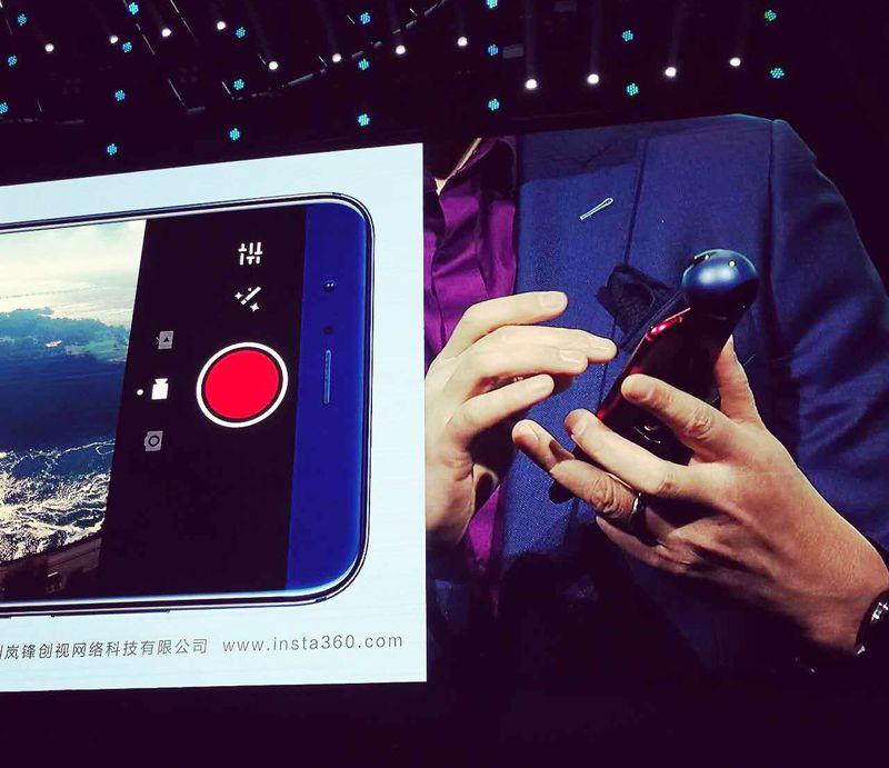 VR стає все ближчим: Huawei випустить 360-градусну камеру