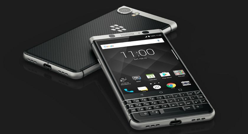 BlackBerry KEYone: нестандартний дизайн із фізичною клавіатурою