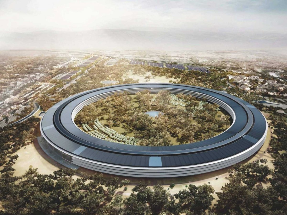 Як виглядає новий офіс Apple, який коштує $5 млрд? (Відео)