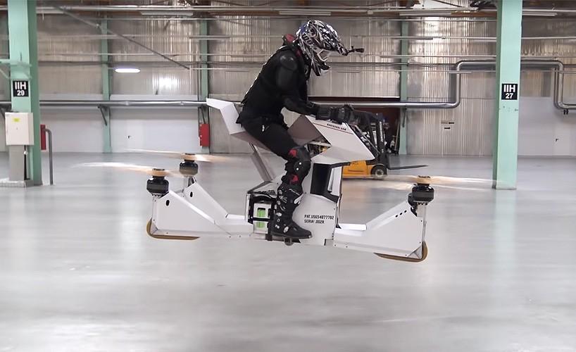 Диво інженерної думки: російський мотоцикл-дрон, який вас уб'є