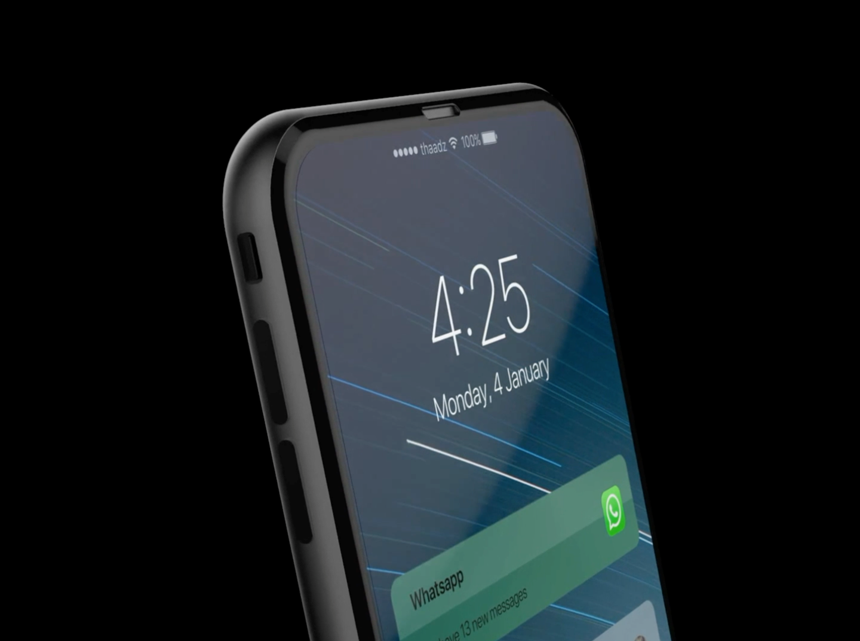 """Фантазія на тему iPhone 8: концепт із Touch Bar і """"склянним"""" корпусом"""
