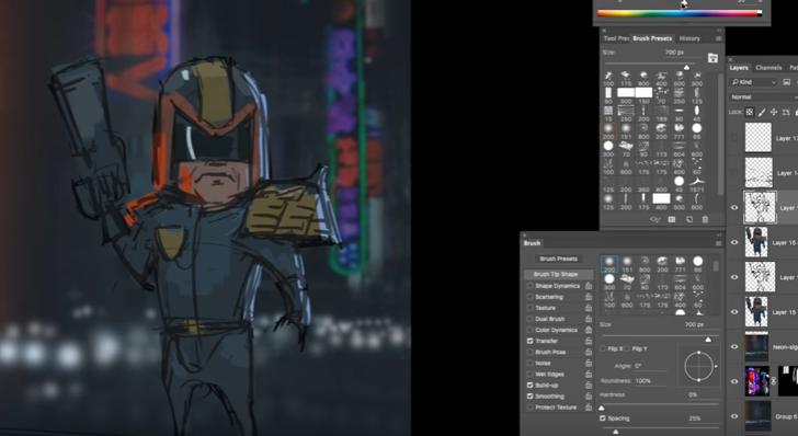 Как художники создают игровых персонажей (ВИДЕО)